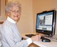 Senior Woman Smiling Telikin sm