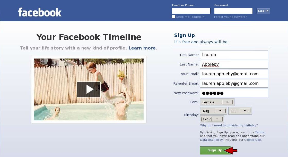 3 steps to getting started on facebook facebook sign up stopboris Image collections